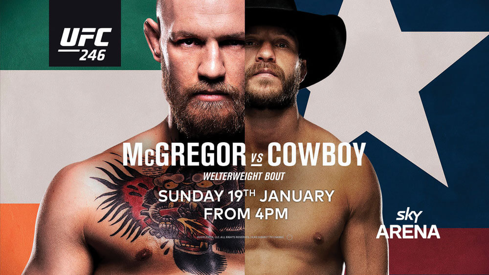 MCGREGOR VS COWBOY
